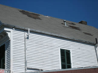Wind damaged Roof Chesterfield VA Roofing